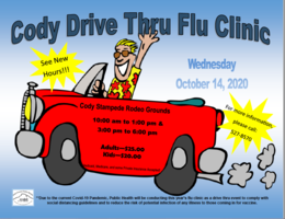 Cody Drive Thru Flu Clinic