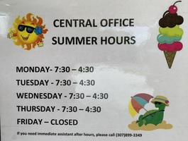 Park 6 Central Office Summer Hours