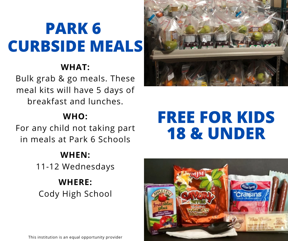 Free Meals for Kids 18 & under