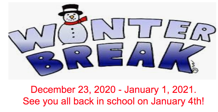 Winter Break 2020