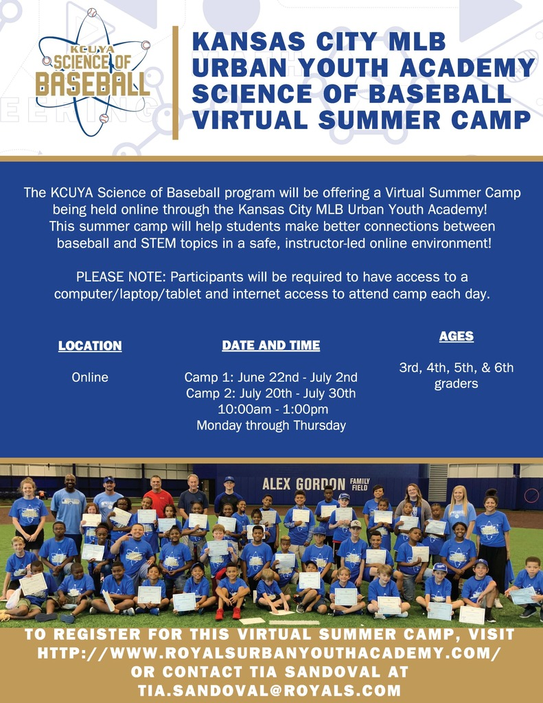 KCUYA Summer Camp Flyer 2020
