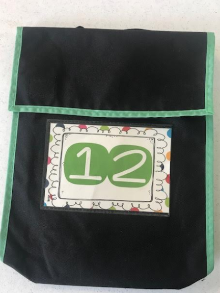 Book bags are prepared for your child's reading level.
