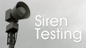 Emergency Siren Testing