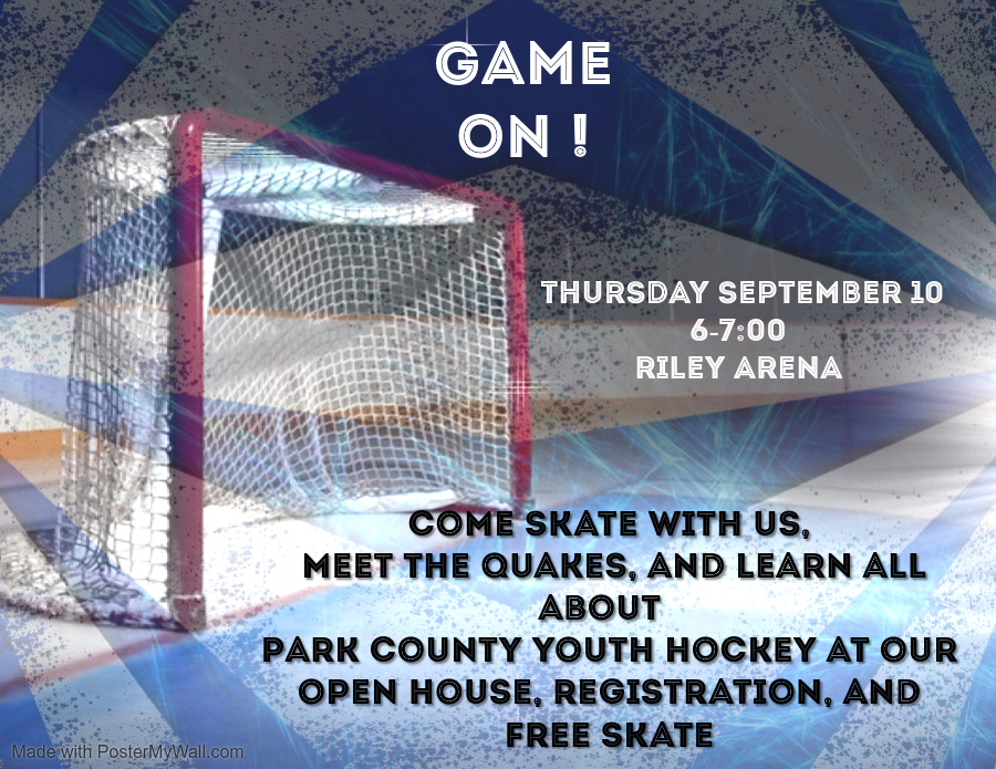 Park County Youth Hockey Open House