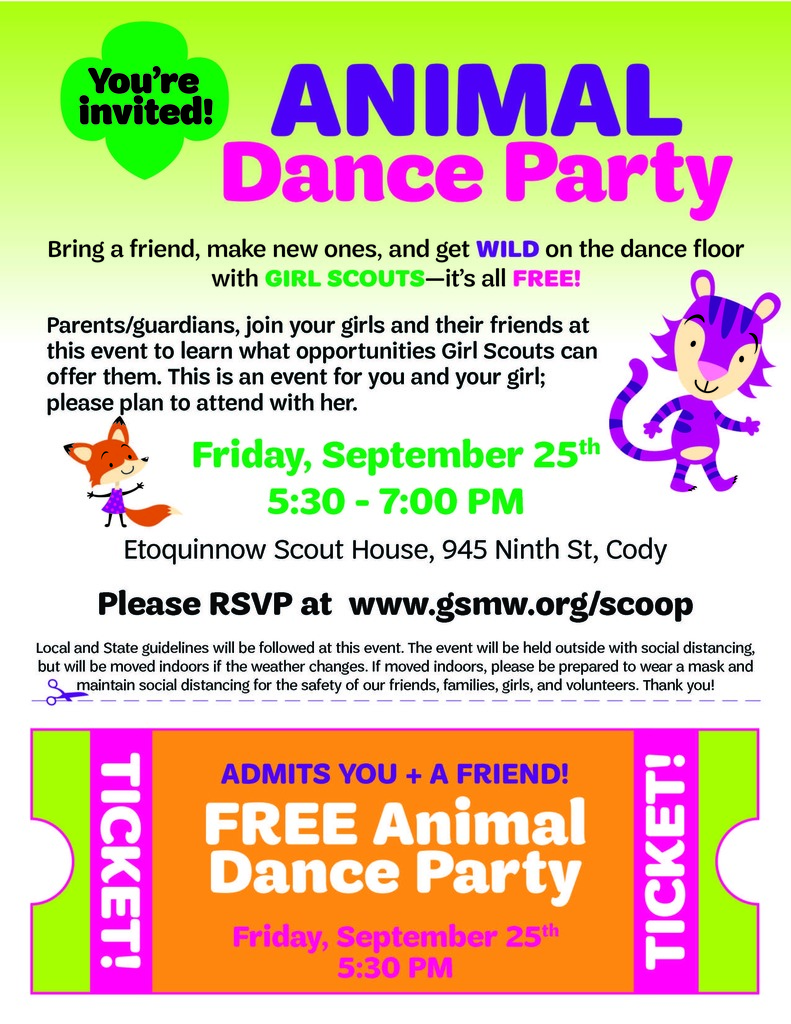 Girl Scout Dance Party